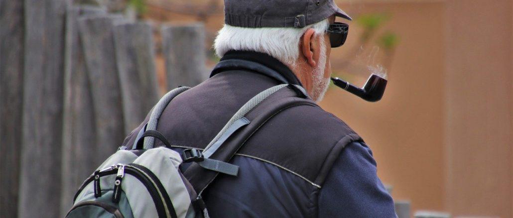 Im Alter: Endlich mit dem Rauchen aufhören