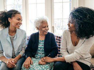 Wenn die Eltern altern, ist guter Rat teuer